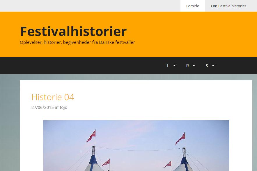 Festivalhistorier